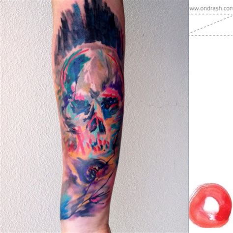 watercolor tattoo artists jacksonville alessio angiolini architech lab the coolest