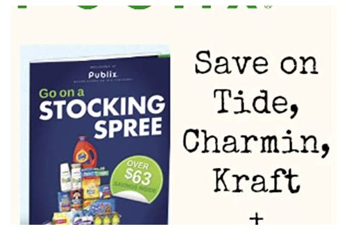 publix stocking spree coupon booklet