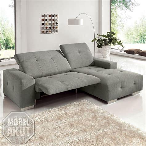 sofa elektrische relaxfunktion ecksofa francisco sofa grau sand mit elektrischer