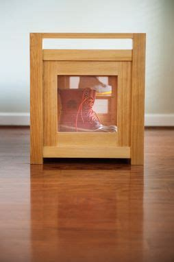 hand crafted boots  shoes storage bench  meredith