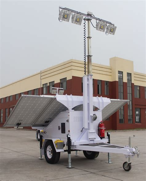 wind mobile towers solar light tower