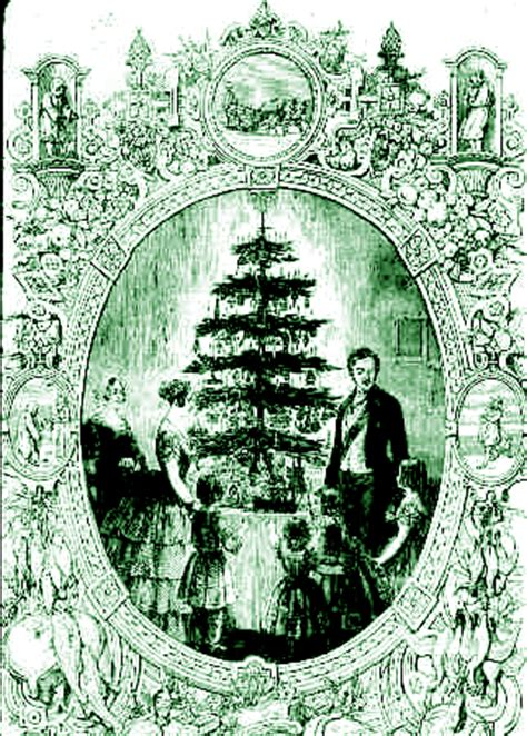 prince albert and the christmas tree finding in ephemera december 2008