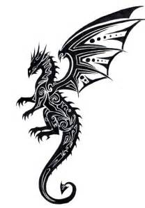 tribal dragon tattoo by tribalchick101 on deviantart