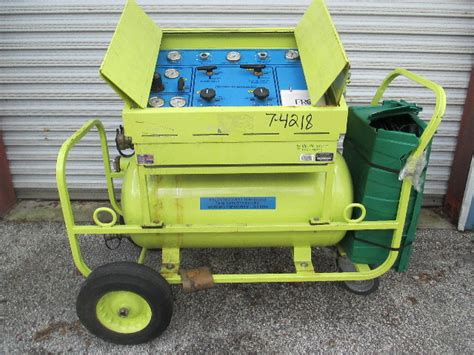 frco halon  recharge recovery system defender  unit lbs capacity