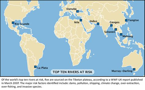 world rivers in map plateau maps meltdown in tibet