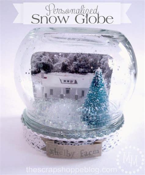 Snow Globe Handmade - best 20 personalized snow globes ideas on diy