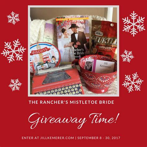 Bride Giveaway - the rancher s mistletoe bride giveaway jill kemerer christian author