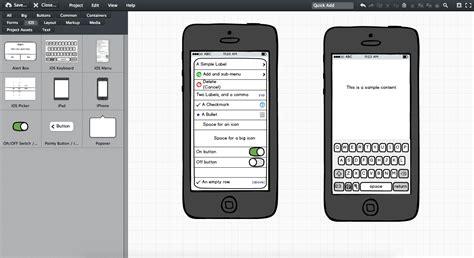 applicazioni mobile servizi web per creare mockup di applicazioni mobile