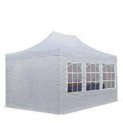 Klapp Pavillon Wasserdicht 3x4 by Klapp Pavillon Mit Seitenteilen Partyzelt 3x4 5 Das