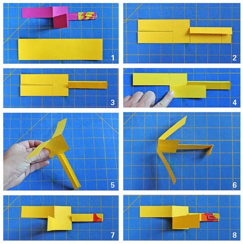 How To Make Helicopter From Paper - fly a helicopter a paper one that is toys