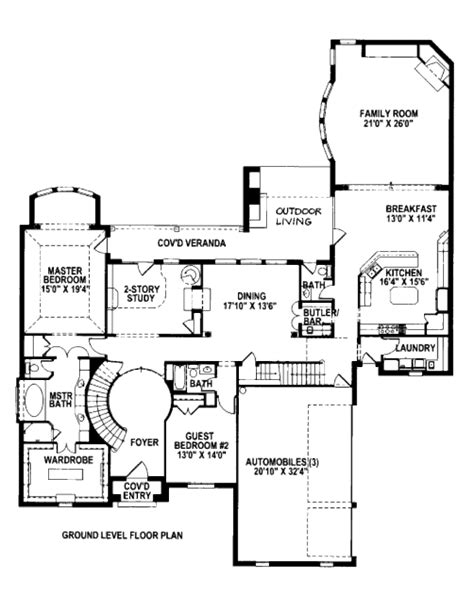 tudor style floor plans tudor style house plan 4 beds 4 5 baths 4674 sq ft plan