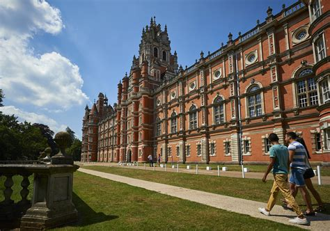 Royal Holloway Of Mba Ranking by Royal Holloway Recognised In The Top Four Universities In