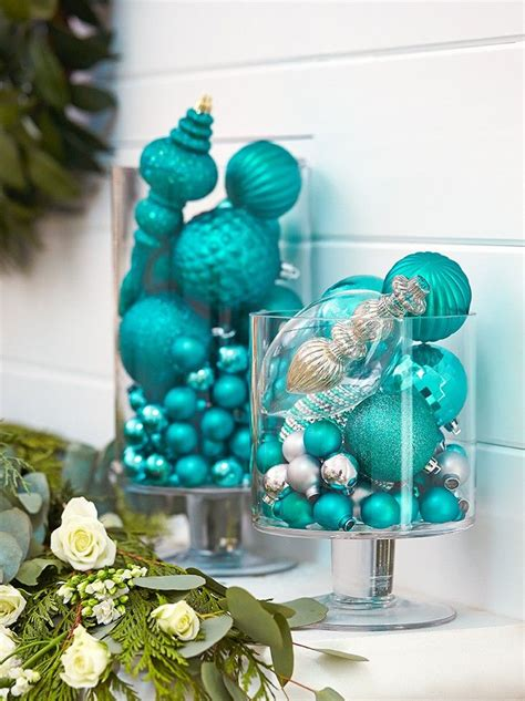 Teal Vases And Ornaments 112 Best Images About On Trees