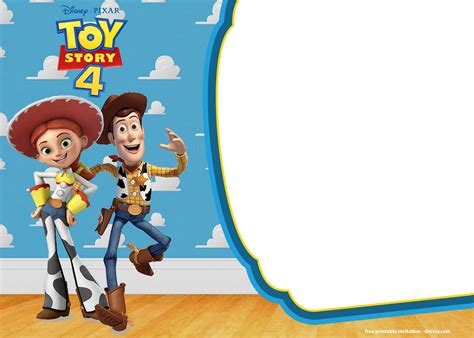 toy story birthday party invitations updated bagvania