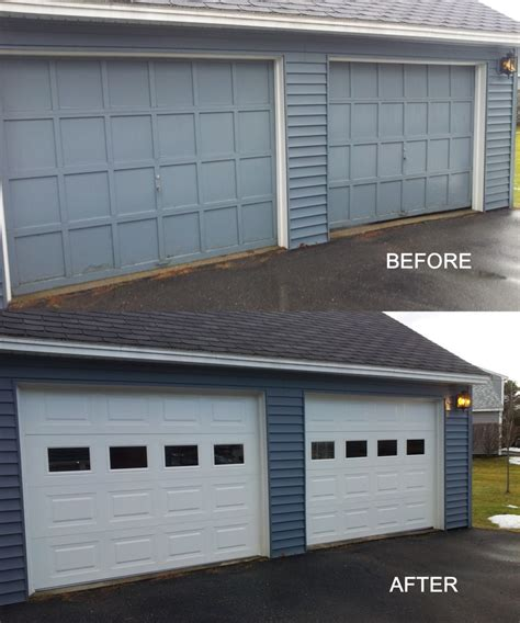 Glass Garage Doors Canada 1000 Images About Before After Garage Door Installations On Canada Models And