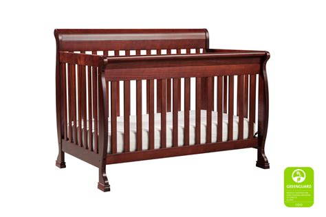 Convertible Crib Cherry Davinci Kalani Convertible Crib Cherry N Cribs