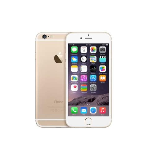 apple iphone 6 64 go or reconditionn 233 224 neuf achat telephone portable reconditionn 233 pas cher