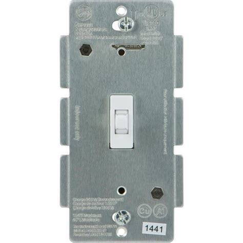 z wave light switch shop ge z wave plus 15 single pole 3 way wireless white toggle indoor light switch at lowes