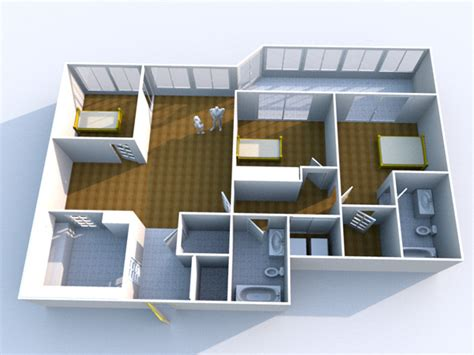 home design 3d objects modern condo floorpaln design obj obj software architecture objects