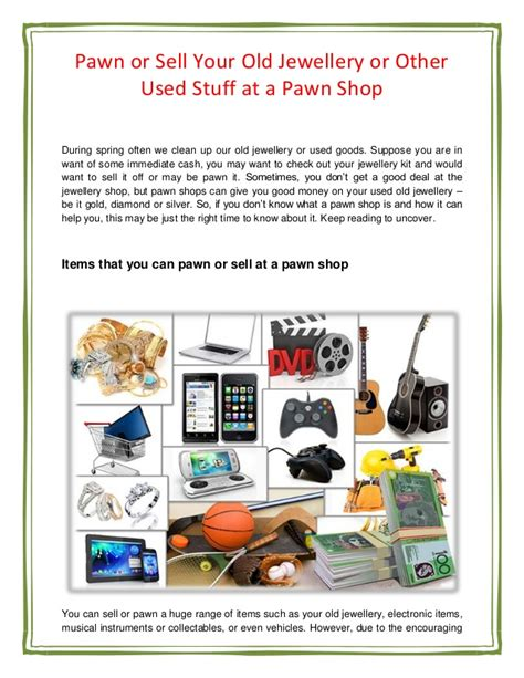 how does pawning work how to pawn something good selling or pawning your old jewellery or other second hand