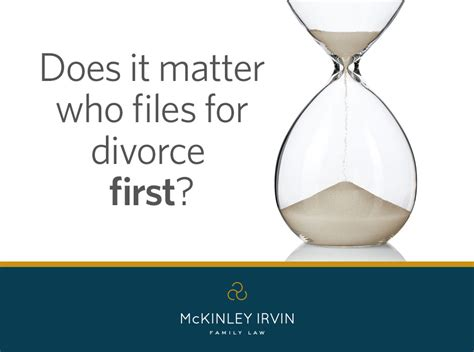 Files For Divorce by Does It Matter Who Files For Divorce