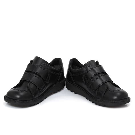 Kickers Boots Size 39 44 kickers black leather lo boots school shoes size 36 39 ebay