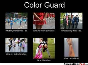 color guard what think i do what i really do