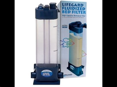 fluidized bed filter why is a fluidized bed filtration aquarium system