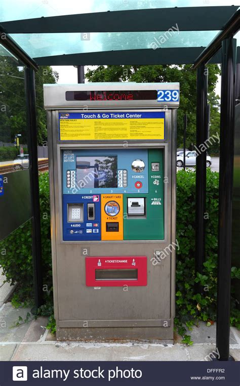 maryland light ticket automated ticket vending machine to platform falls