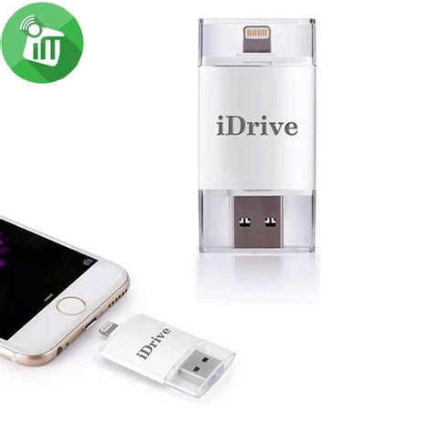 Istook Usb Flash Drive With Apple Lightning Connectorotg 16gb idrive iflash lightning to usb otg drive for apple and android