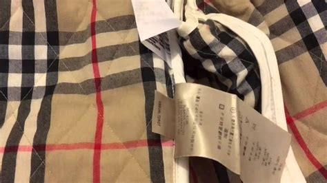 Burberry Coat Serial Number how to spot a real authentic burberry jacket