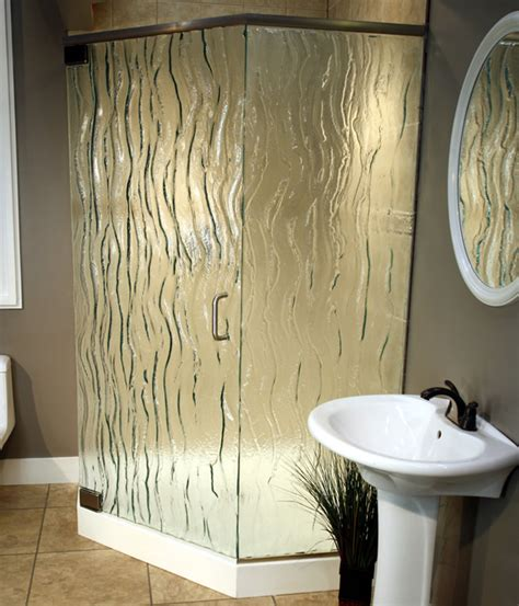 Frosted And Textured Glass Options For Shower Doors Shower Door Glass Options