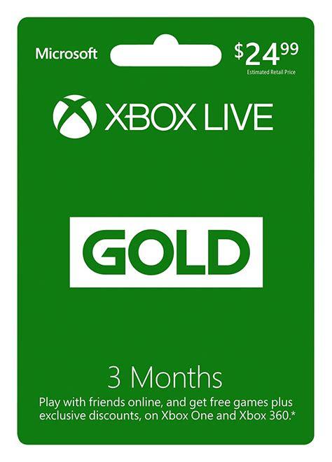 amazon xbox live خصم 50 على إشتراك 3 شهور xbox live 3 month gold