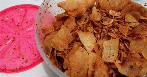 Keripik Kentang Bawang Ebi 500gr resep keripik kentang ebi nyummy oleh desy jun cookpad
