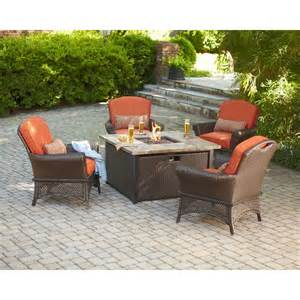 pit patio set hton bay rosemarket 5 patio pit set shop