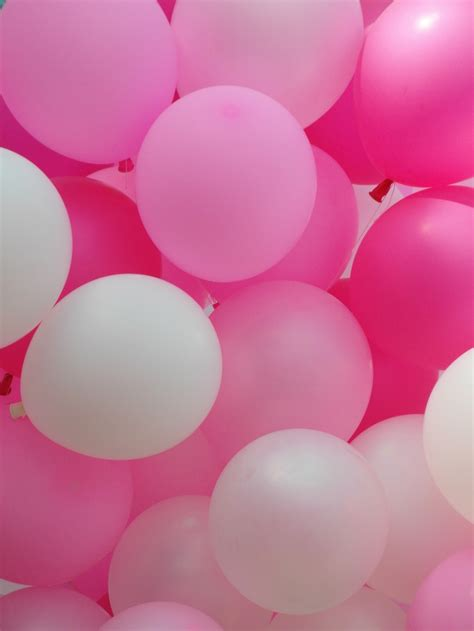 Pink Balloon Wallpaper | pink balloons free stock photo public domain pictures