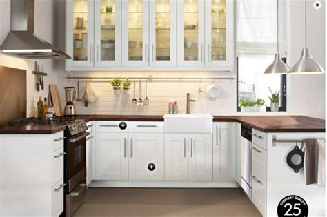 White Kitchen With Wood Countertops by White Kitchen With Wood Countertops Kitchen