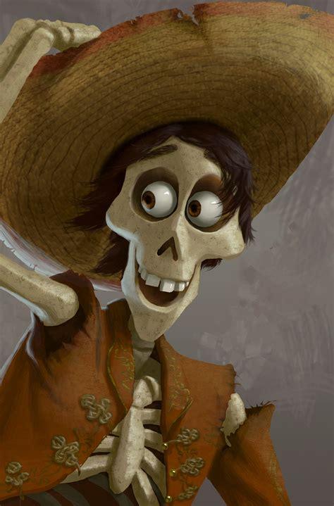 disney pixars coco bringing skeletons  life growing