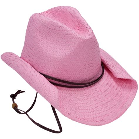 Cowboy Hat Pink rolled brim cowboy hat pink 20535pkao mardigrasoutlet