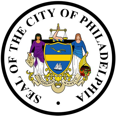 City Of Philadelphia Property Records File Seal Of Philadelphia Pennsylvania Svg Wikimedia