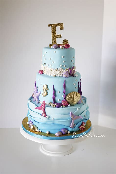 The Sea Cakes For Baby Shower the sea baby shower cake bakes