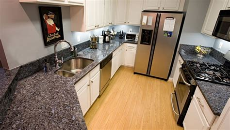 blue pearl granite kitchen