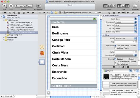 xcode table layout table view xcode brokeasshome com