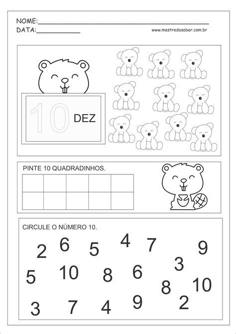 Atividades com Números Educação Infantil - Mestre do Saber