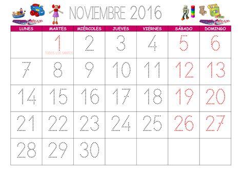 Calendario Chile 2016 Calendario Noviembre 2016