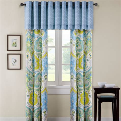 echo curtains echo design sardinia grommet curtain