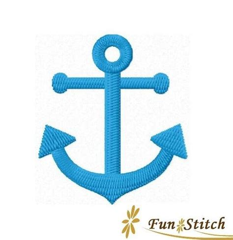 embroidery design anchor anchor machine embroidery design instant download