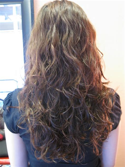 texture wave before and after multi texture perm how to do a multi textured perm