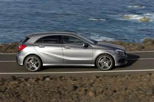 Mercedes Co2 Emissions Sporty Compact Mercedes A Class With Emissions From Just