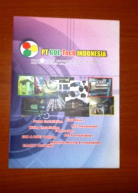 layout perusahaan 15 contoh company profile printed hardcopy company